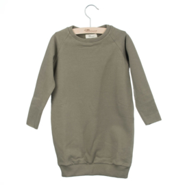 Sweat Dress Taupe