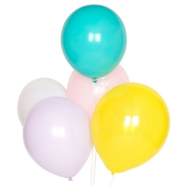 Ballonnen Pastel
