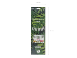 Slinger Tropische bladeren