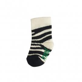 Basic sock Smiling Zebra