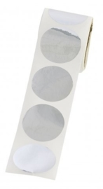 Stickers Zilver