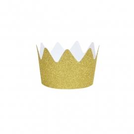 Kroontjes 'Goud Glitter'