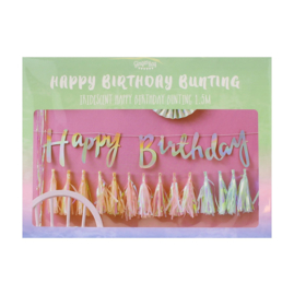 Happy Birthday Slinger Iridescent Party