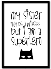 Poster I am a Superhero