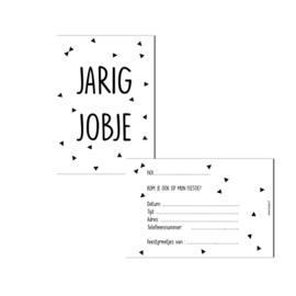 Uitnodigingen Jarig Jobje