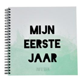 Boek Mijn eerste jaar Mint