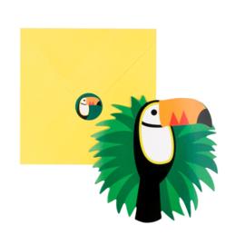 Uitnodigingen Toucan