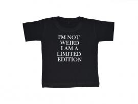T-Shirt I'm not weird