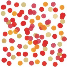 Confetti Rood & Goud
