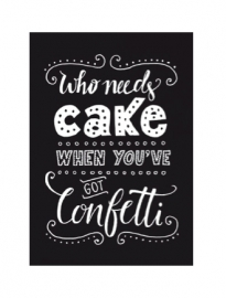 Who Needs Cake