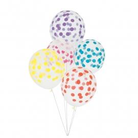 Ballonnen Confetti Kleuren
