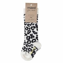 Knee sock White Leopard