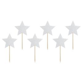 Cupcake topper Unicorn Stars