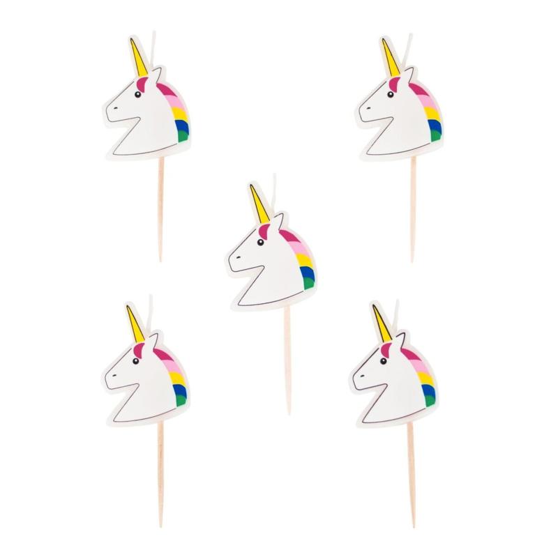 Kaarsjes Unicorn