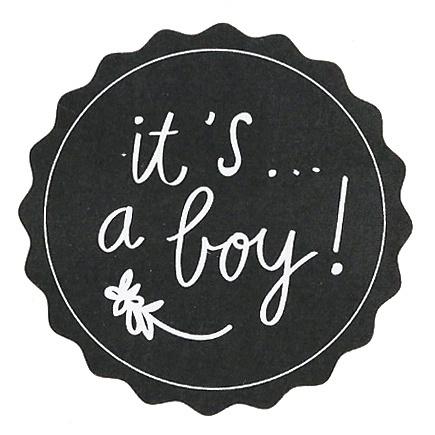 Stickers It's a boy!