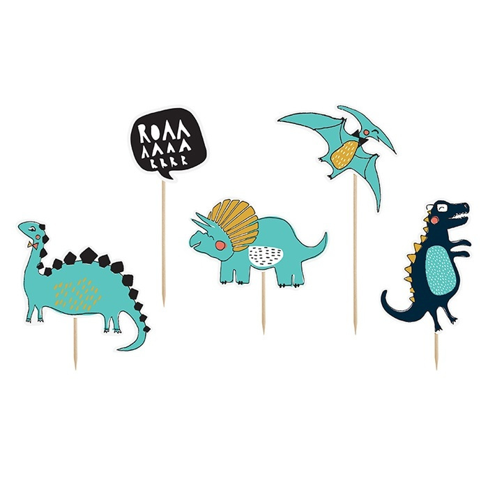 Cake Toppers | Dino Party