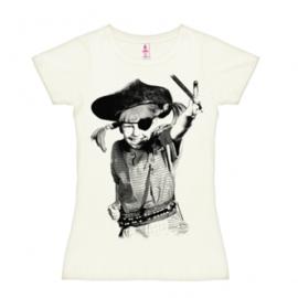 T-Shirt Petite Pippi - Pirate - Almost White