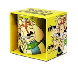 Mug Asterix & Obelix - Yellow