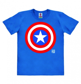 T-Shirt Kids Marvel - Captain America Shield - Blue