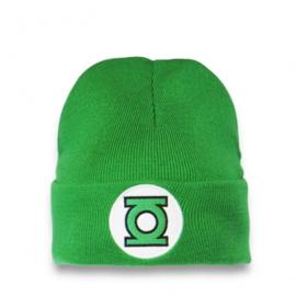 Beanie Adult DC - Green Lantern - Logo - Green