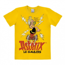 T-Shirt Asterix - Le Gaulois - Bright Yellow