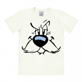 T-Shirt Asterix - Idefix - Almost White