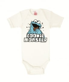 Baby Romper Sesame Street - Cookie Monster
