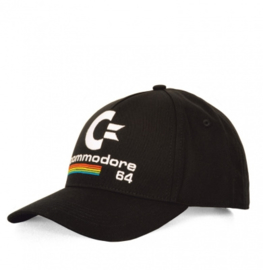 Baseball Cap Adult Commodore - C64 - Black