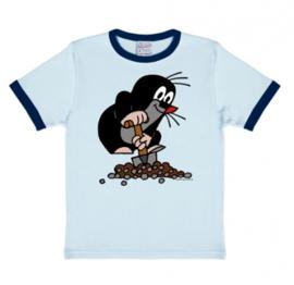 T-Shirt Kids Der Kleine Maulwurf - Blue