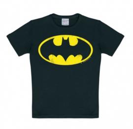 T-Shirt Kids DC - Batman Logo - Black
