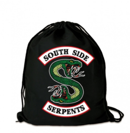 Gym Bag Riverdale - South Side Serpents - Black