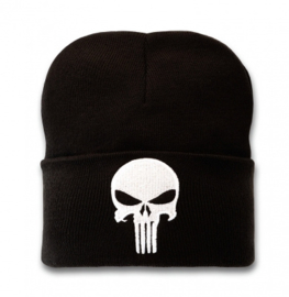 Beanie Adult Marvel - Punisher - Logo - Black