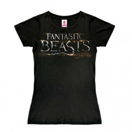 T-Shirt Petite Fantastic Beasts - Logo - Black