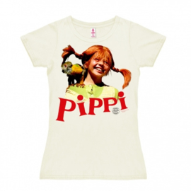 T-Shirt Petite Pippi - Nilsson - Almost White