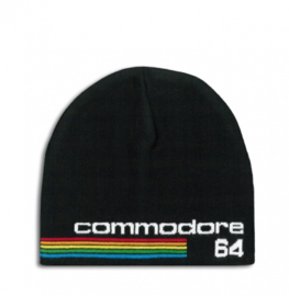 Beanie Adult Commodore - 64 - Logo - Black