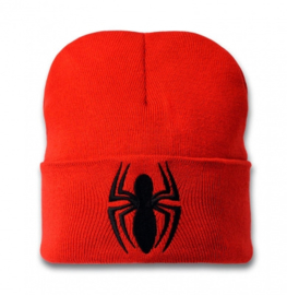 Beanie Adult Marvel - Spiderman - Logo - Red