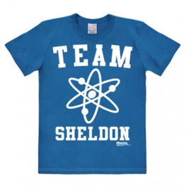 T-Shirt Big Bang Theory - Team Sheldon - Azure Blue