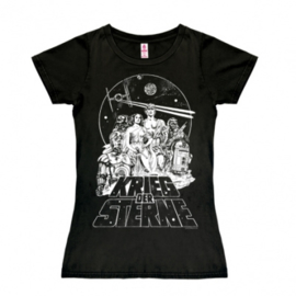 T-Shirt Petite Star Wars - Krieg der Sterne -Black