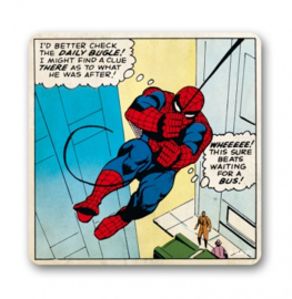 Coaster Marvel - Spiderman Beats Waiting For The Bus!