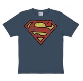 T-Shirt Kids DC - Superman - Medium Blue