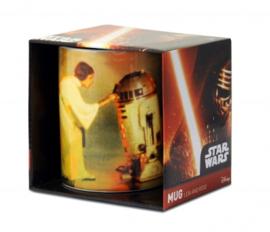 Mug Star Wars - Leia & R2-D2