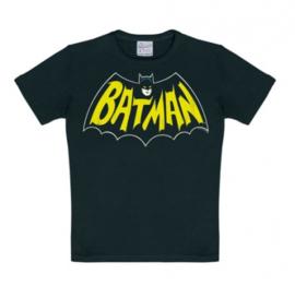 T-Shirt Kids DC - Bat - Black