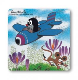 Coaster Der Kleine Maulwurf - Airplane