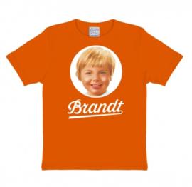 T-Shirt Kids Brandt 70's - Bright Orange