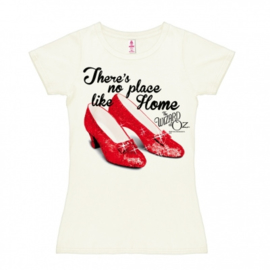 T-Shirt Petite The Wizard Of Oz - There's No Place Like Home - Almost White