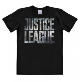 T-Shirt DC - Justice League - Movie - Logo - Black