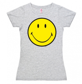 T-Shirt Petite Smiley -Grey Melange