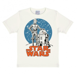 T-Shirt Kids Star Wars - Droids C-3PO & R2-D2