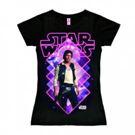 T-Shirt Petite Star Wars - Han Solo - Black