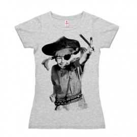 T-Shirt Petite Pippi - Pirate - Grey Melange